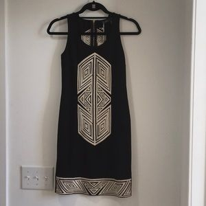 THML tribal front dress